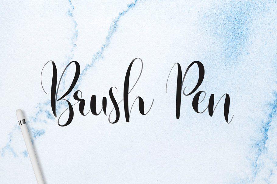 Download Lettering Brush Pack for Procreate | Hand lettering ...