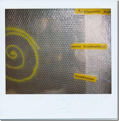 Kunst + Kammer = KunstKammer    Kamera: Polaroid ProCam   Film: Polaroid Type 1200 image