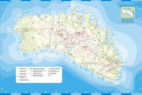 Mapa De Menorca Original En Visitmenorca Com Menorca Spain