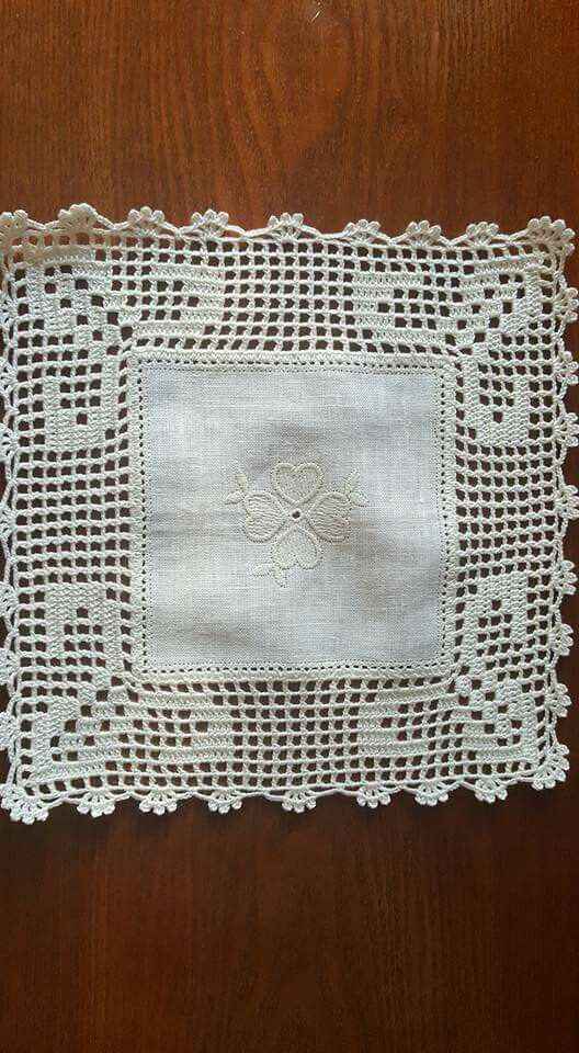 Pin de Teresita Bolañez en tejido | Pinterest | Ganchillo, Mantel y ...