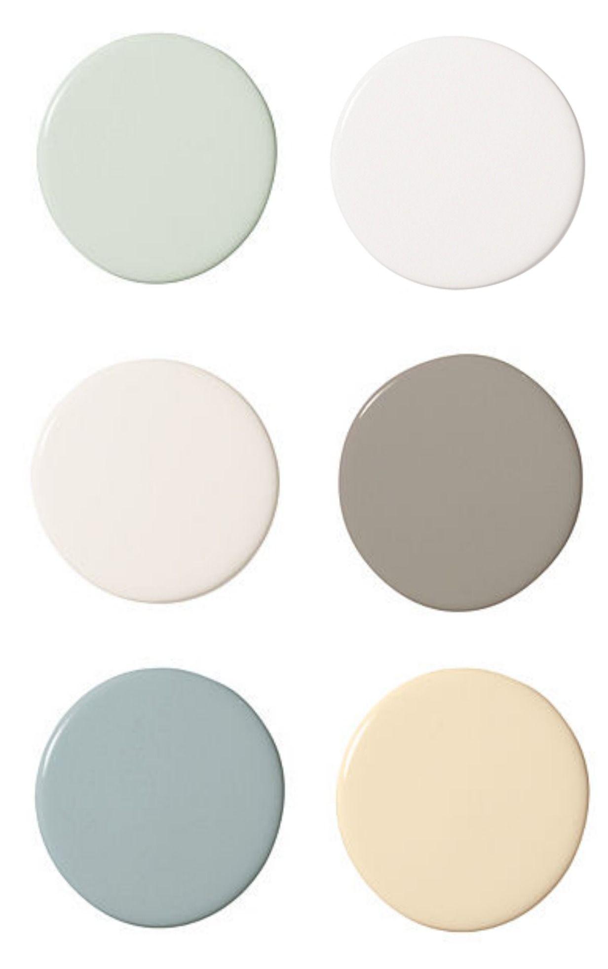 Paint color palette.   Coastal decor, Paint color schemes ...