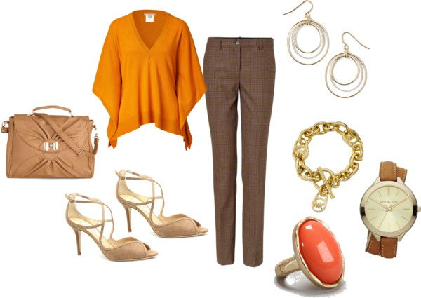 """""""Pumpkin spice"""" by leeron on Polyvore"""