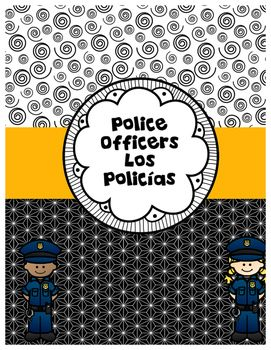 All About Police Officers Todo Sobre Los Policías In English And Spanish Vocabulary Cards Police Officer Police