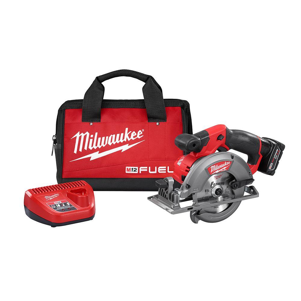 Milwaukee M12 FUEL 12Volt LithiumIon Brushless Cordless