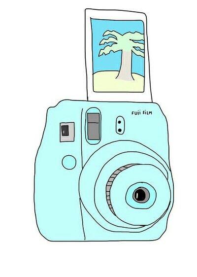 I Really Want Polaroid Camera We Heart It Overlay And Polaroid Camera Drawing Camera Cartoon Camera Doodle