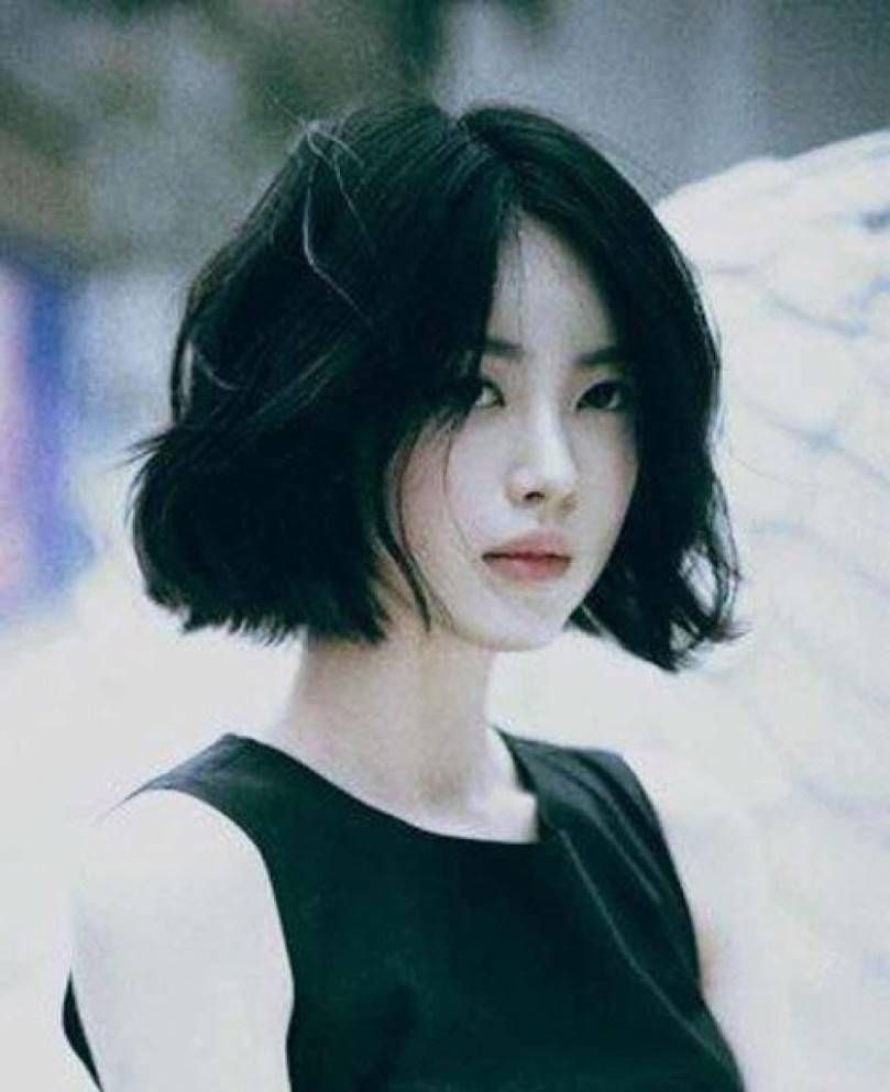 Top Short Hairstyle Korean  Korean short hair, Girl haircuts