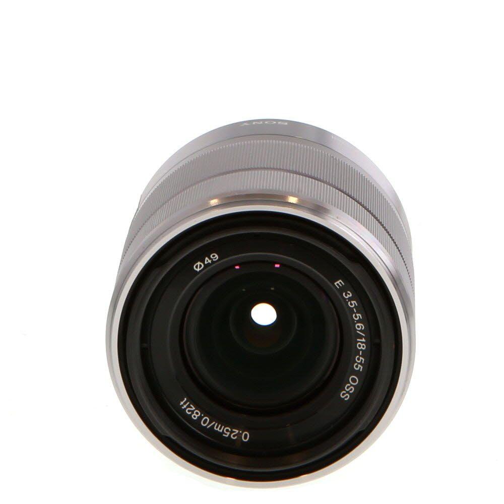Sony 18 55mm F 3 5 5 6 Oss Af E Mount Lens Black 49 Sel1855 B Lens Mirrorless Camera Old Camera