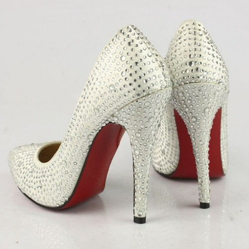 5948839b581a Rhinestone Louboutin heels
