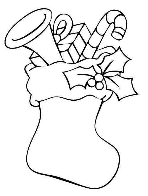 Weihnachten Gefullter Strumpf Mit Geschenken Zum Ausmalen Ausmalbilder Weihnachten Malvorlagen Weihnachten Weihnachtsmalvorlagen