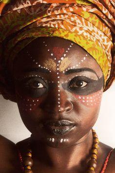 maquillaje africano