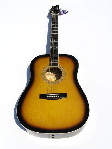 save order now kona vintage style acoustic guitar tobacco sunbu best acoustic. Black Bedroom Furniture Sets. Home Design Ideas