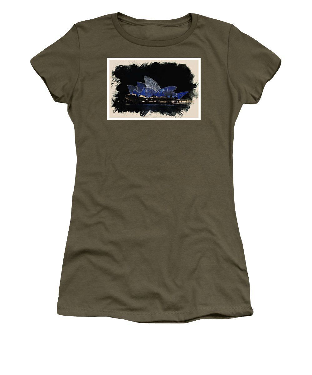 Wonders Of The Worlds - Opera House Of Sydney - Women's T-Shirt (Athletic Fit)