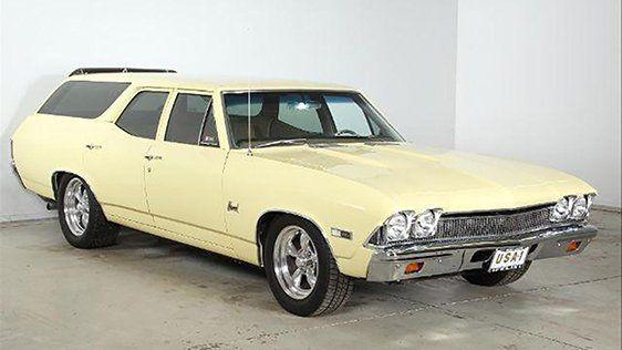 1968 Chevrolet Chevelle Nomad Station Wagon Custom Chevelle Station Wagon Chevrolet Chevelle