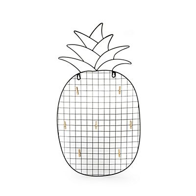 Nana Mémo en métal et forme d ananas   Idées pour la maison ... 3419ecc095cd