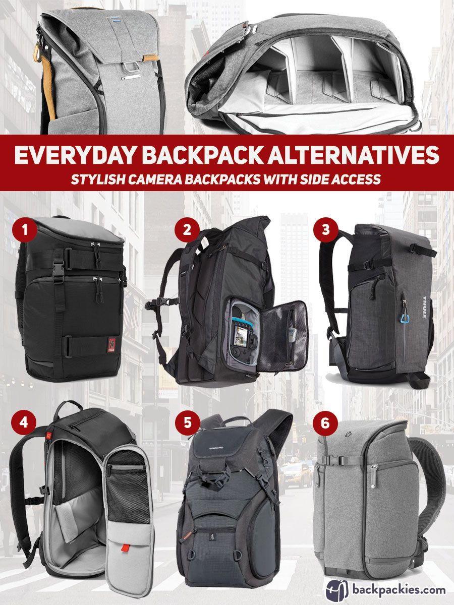Best Peak Design Alternative - camera backpacks with side access to main  compartment - Other brands like Peak Design Everyday Backpack -  backpackies.com 78622ce77c216