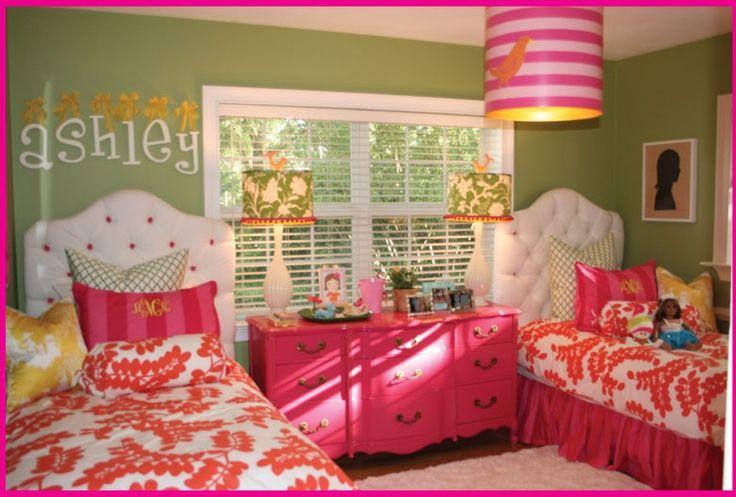 incredible hot pink orange bedroom | Pink and Orange Rooms | cute pink and orange girls room ...