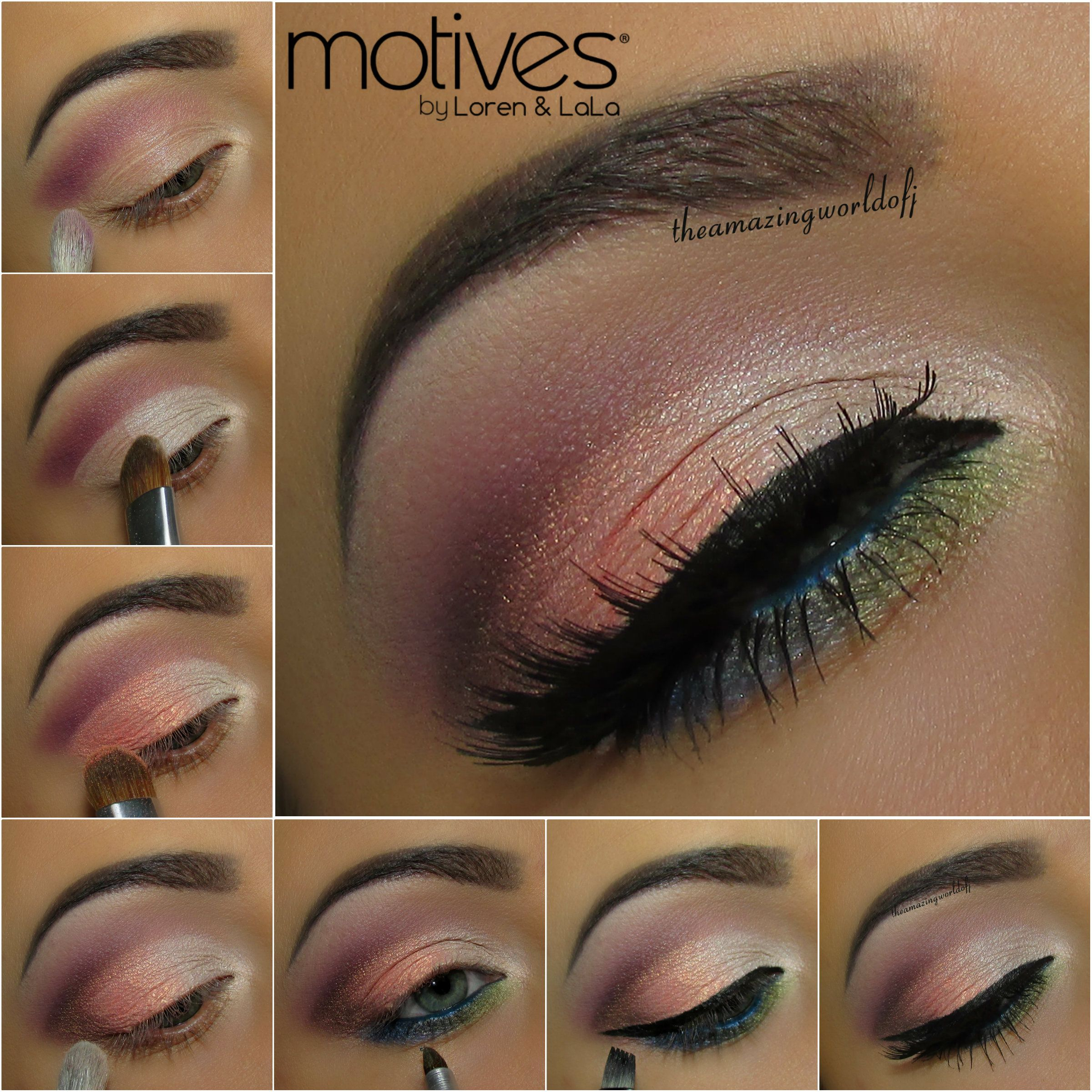 Get The Look Motives Spring Looks Spring Makeup Tutorial