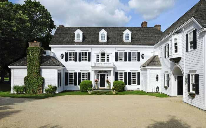 10 Different Types Of Home Exterior Styles For New Buyers Greenwich Connecticut Georgian And