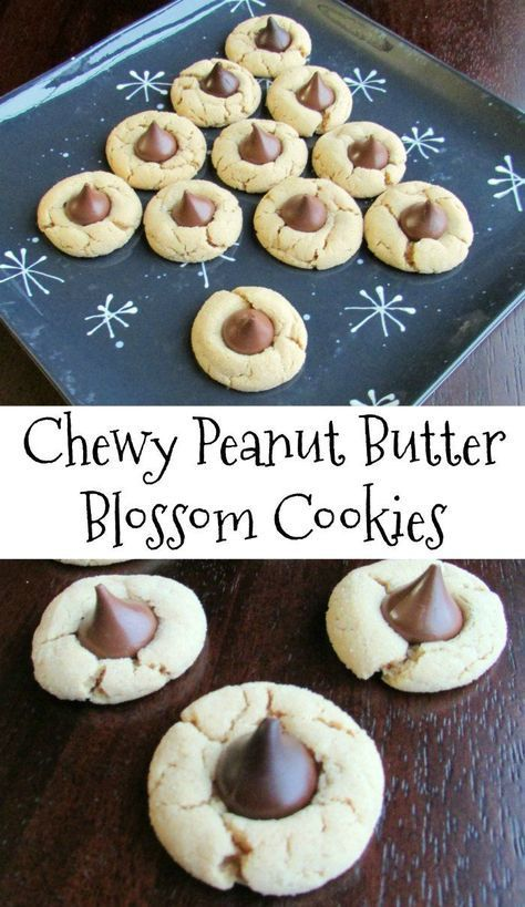 Perfectly Chewy Peanut Butter Blossoms