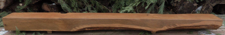 Red oak mantel