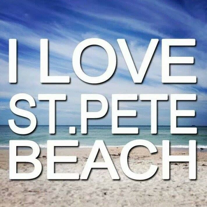 How could you not?  We all love St Pete Beach!! #ilovestpetebeach