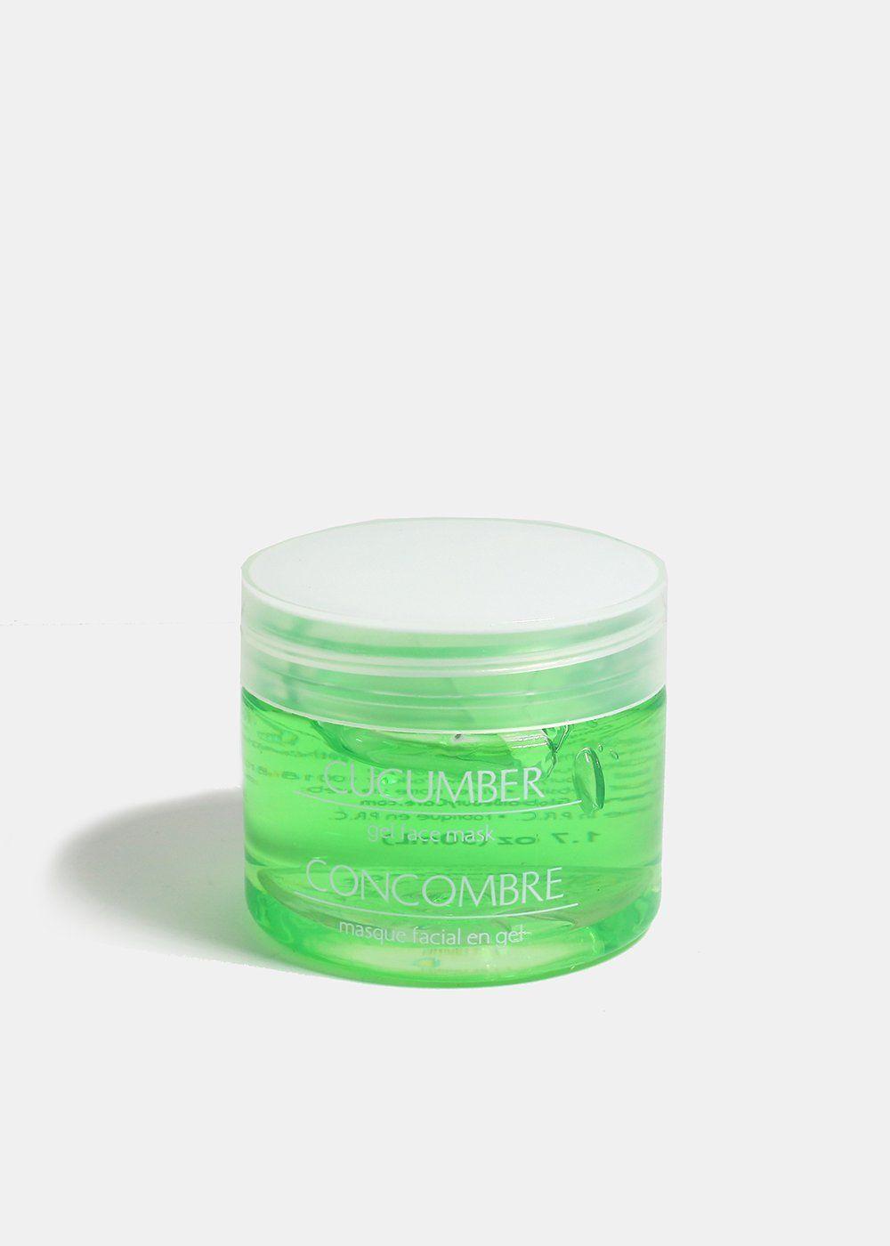 masque gel facial