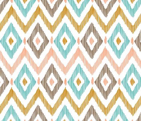 Pattern Desktop Wallpaper Adorable Wallpapers Diamond IKAT Fabric By Pattysloniger On Spoonflower