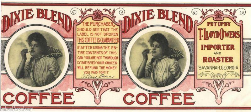 Vintage Coffee Can Labels Printable