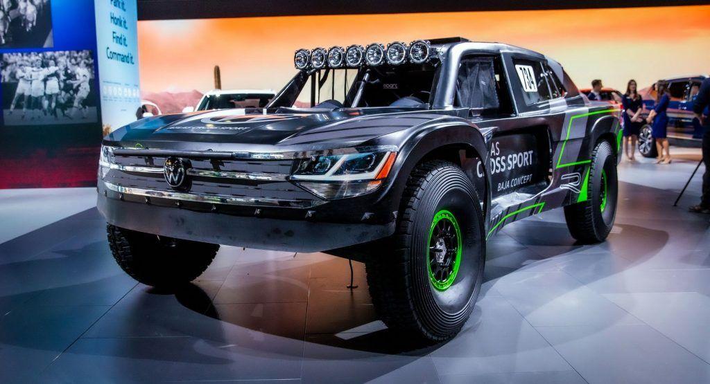 480 HP VW Atlas Cross Sport R Baja Race Truck Is Mad Max