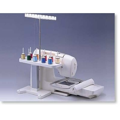 Brother Sa503 Ten Spool Thread Stand Machine Embroidery Brother Embroidery Sewing Machine