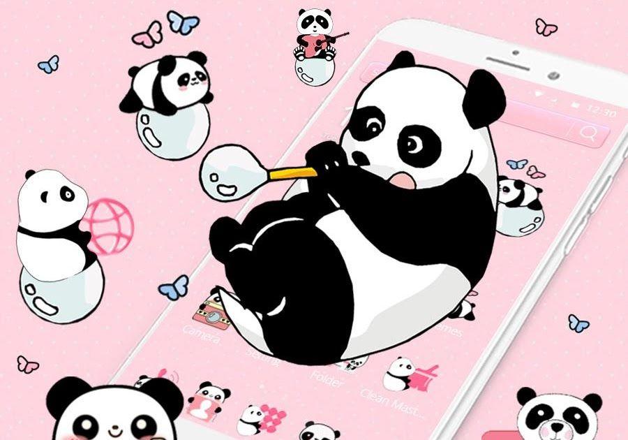 Menakjubkan 11 Gambar Untuk Wallpaper Hp Lucu Imut Panda Tema Cute Panda Aplikasi Di Google Play Veda Aco Free Wallpaper Wallpa Kartun Lucu Wallpaper Kartun