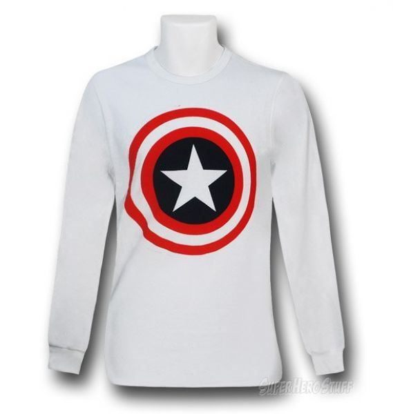 Longsleeve Captain America Sweater