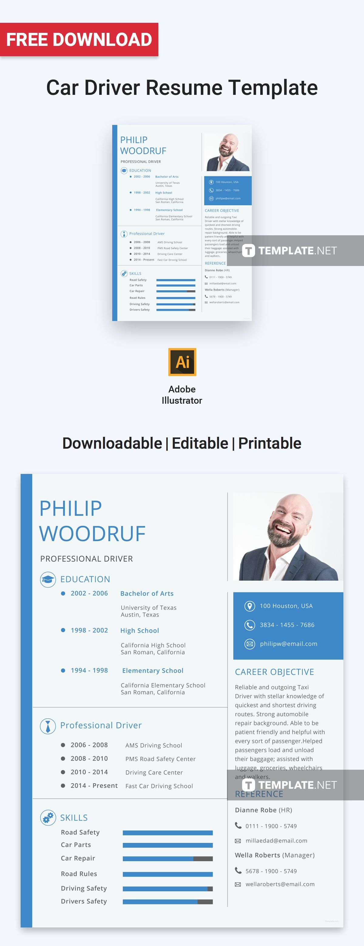 Pin By Template Net On V Resume Design Professional Resume Template Resume