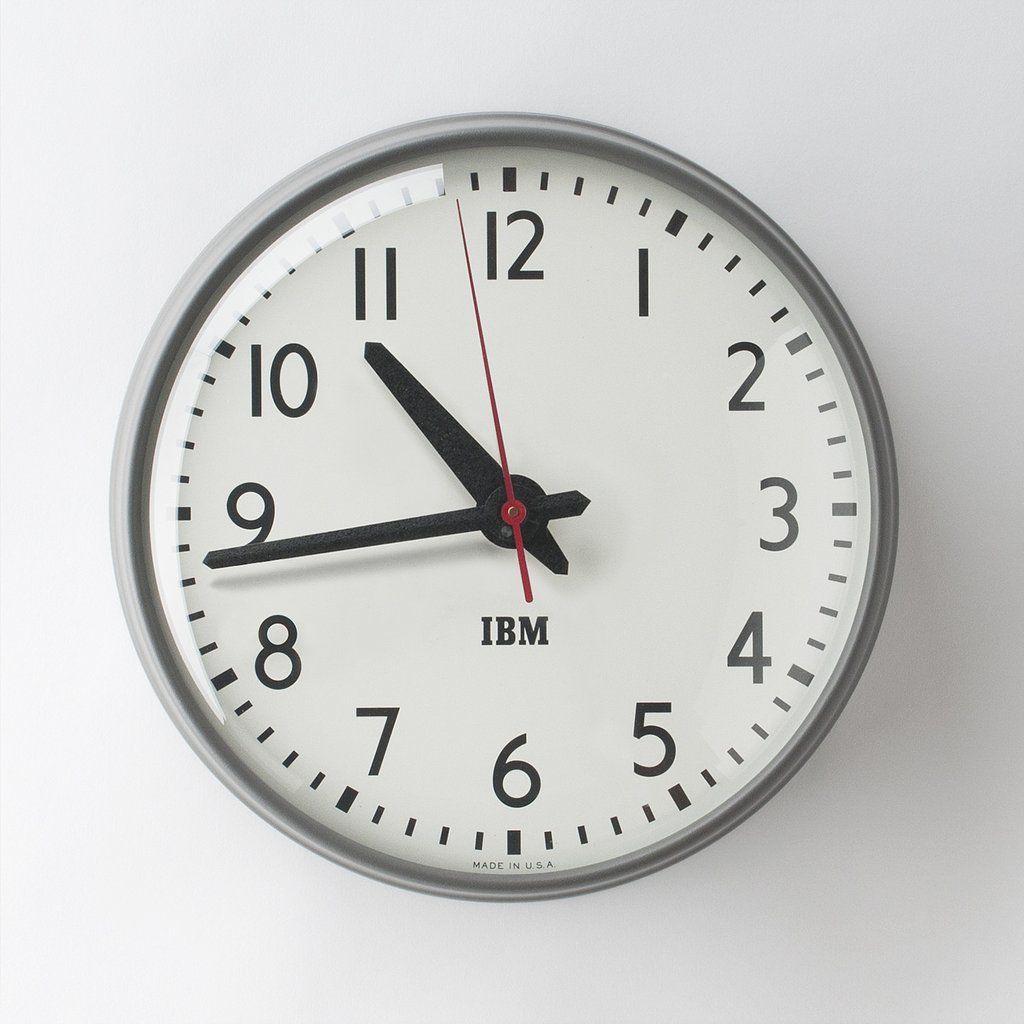 Clocks Wall Clocks Ibm Clocks Clock Schoolhouse Electric Wall Clock