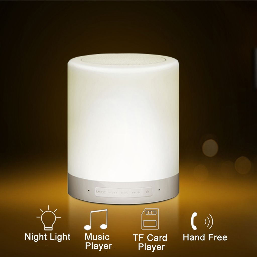 Functions Introduction For Touch Lamp With Portable Speaker Touch Lamp Light Music Hand Of Cards