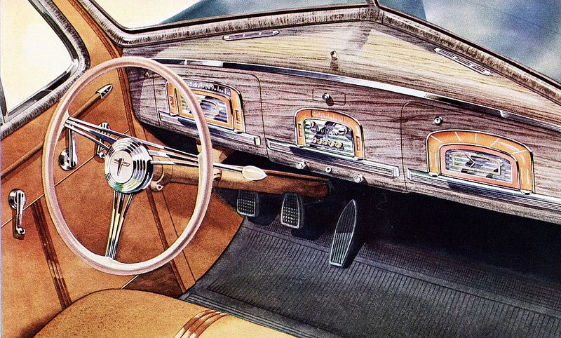 1939 Hudson Country Club Dashboard Old Cars Image Pictures