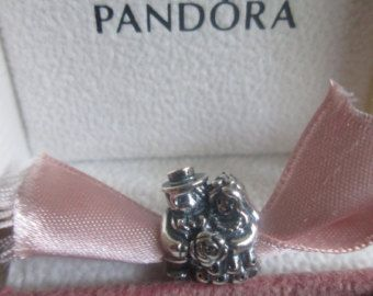 bad065179 Authentic Pandora MR and MRS Wedding Charm For Bracelet Bride and Groom