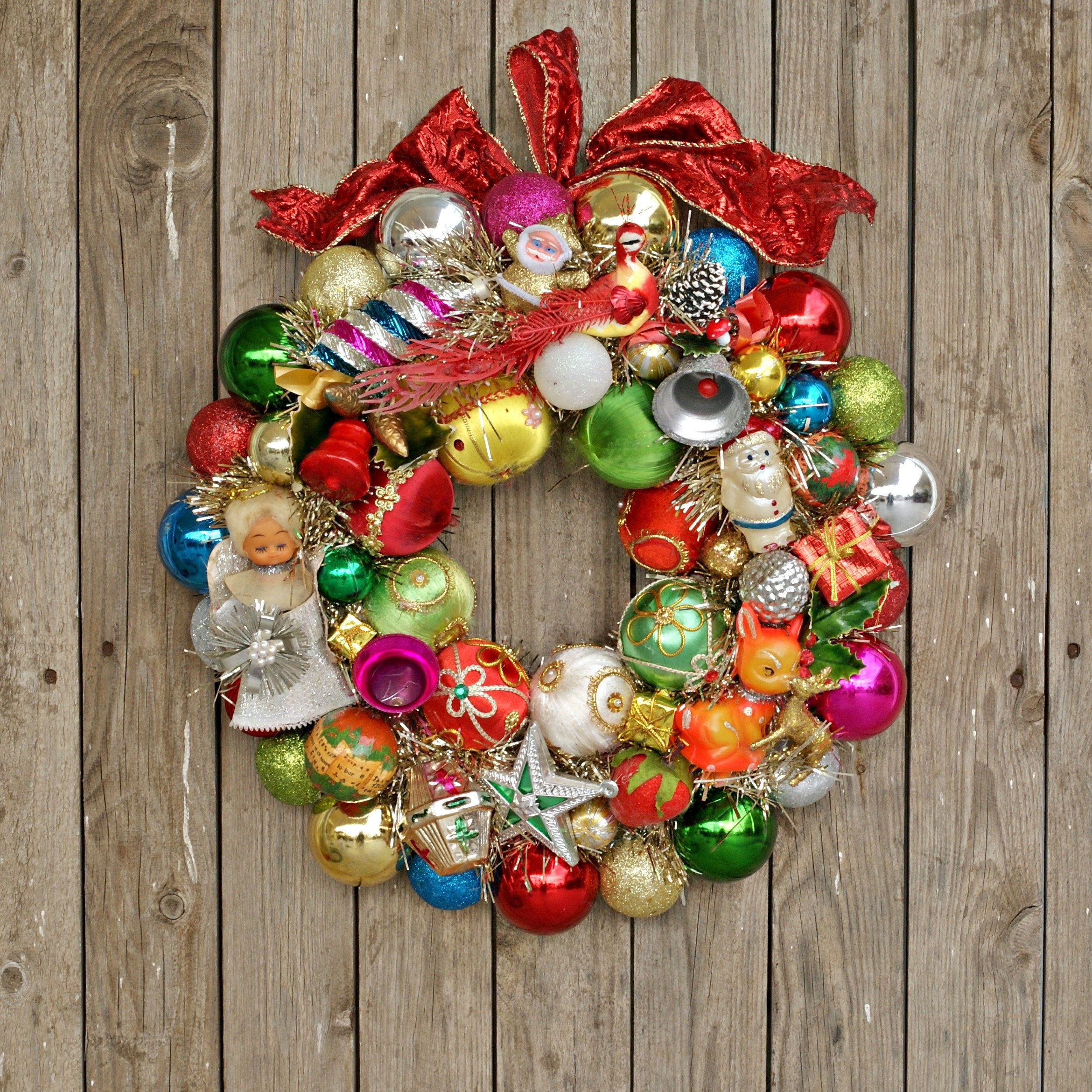 Christmas Wreaths For Front Door Vintage Christmas Decorations