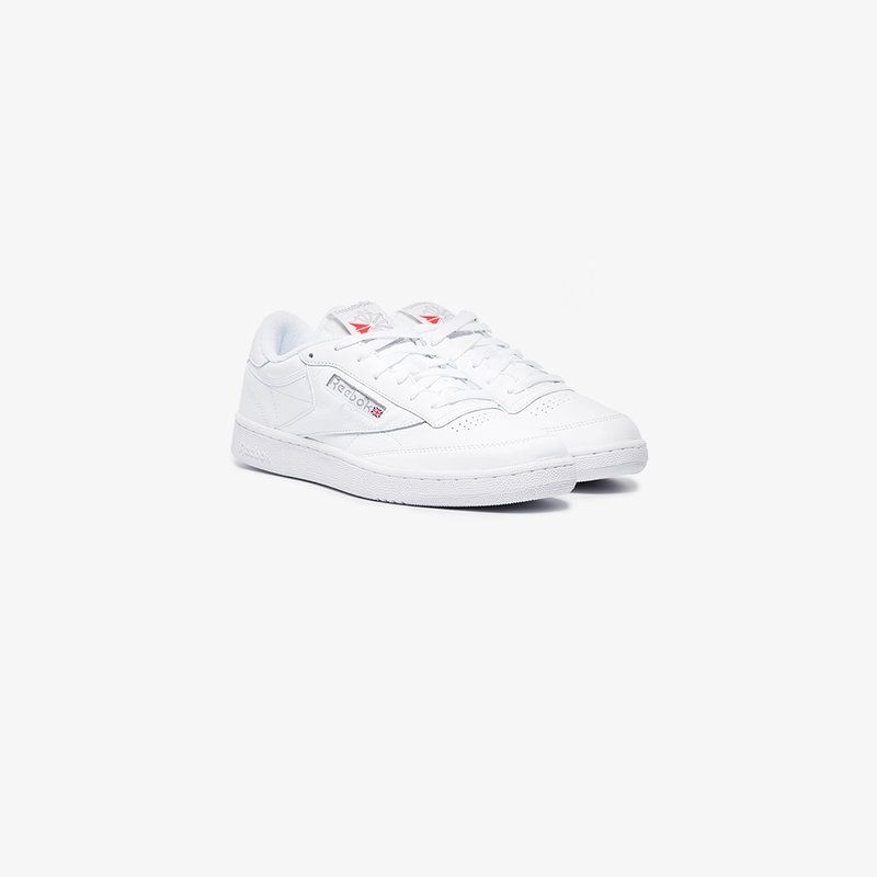 c2ce6cae754ee White Club C 85 Archive Leather Sneakers from Reebok featuring a round toe