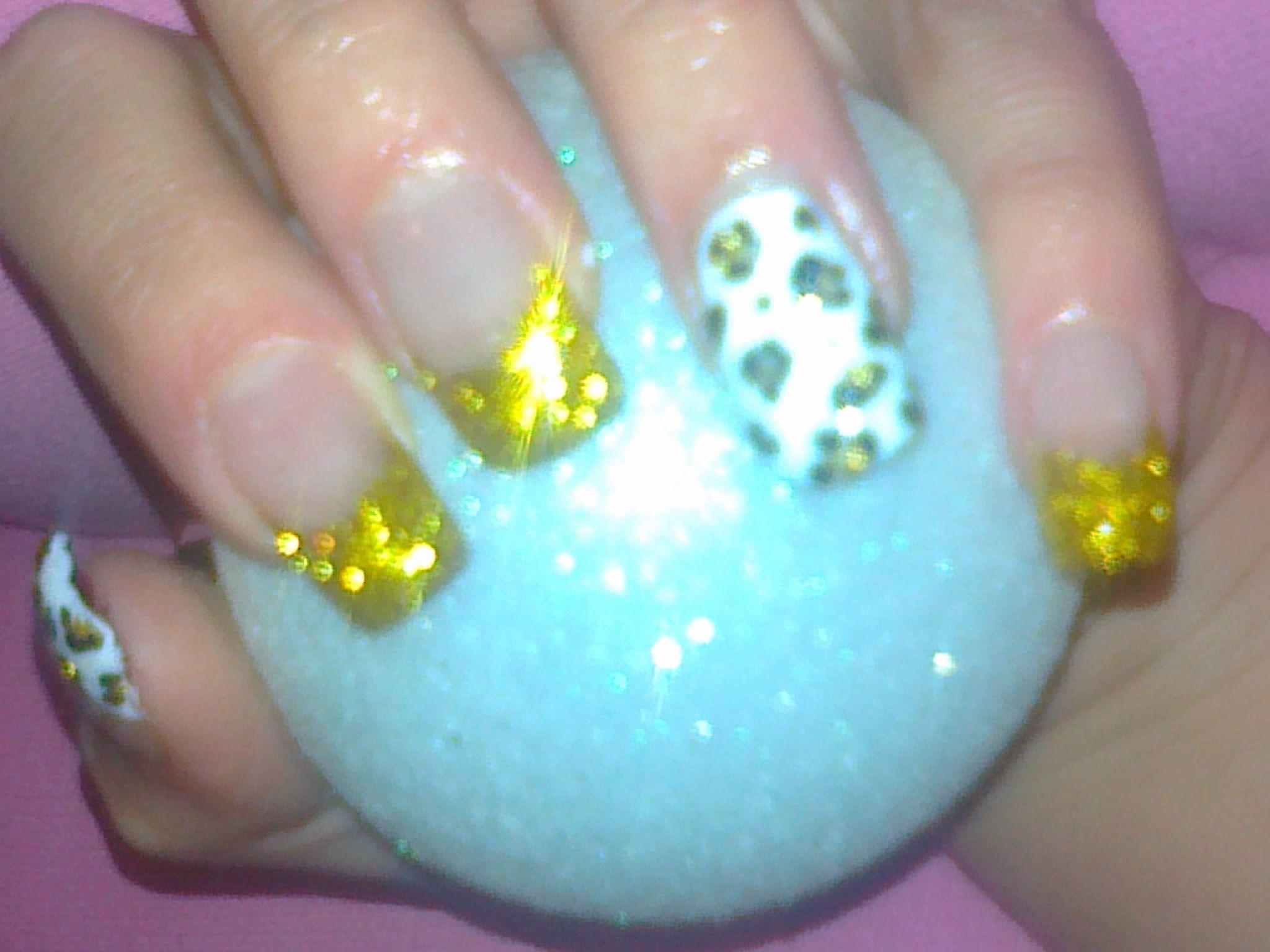 my nails<3<3<3<3<3