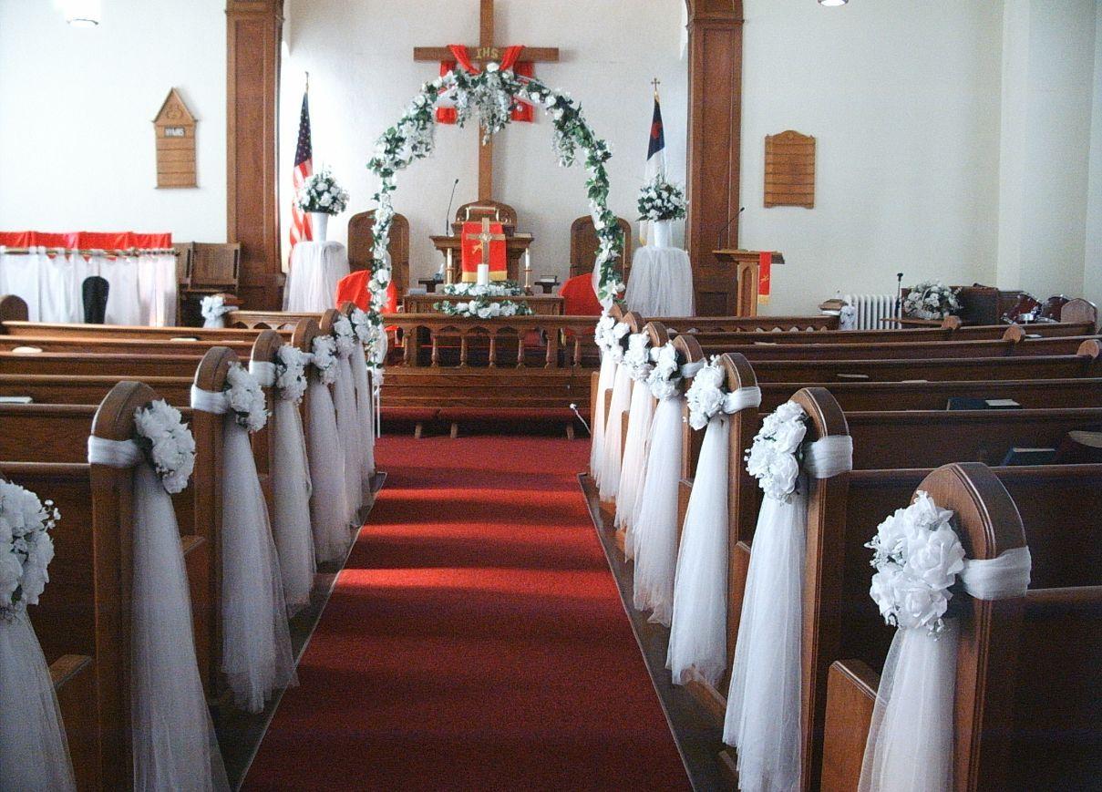 Decorating For A Wedding Small Church Wedding Decorating Ideas Church Wedding Theme
