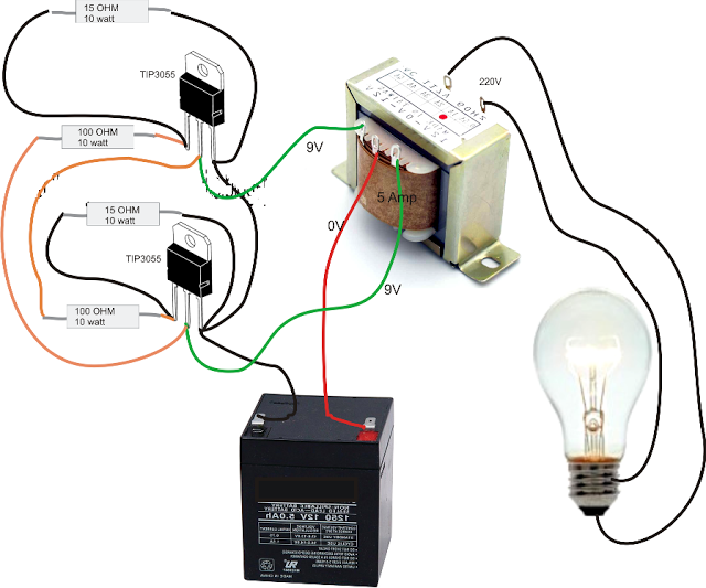 Simple Inverter Circuit Diagram Electrical Blog Grafik - Circuit diagram of an inverter