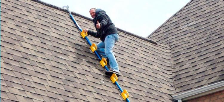 Goat Steep Assist Roof Ladder Roof Ladder Roof Work Roofing Tools