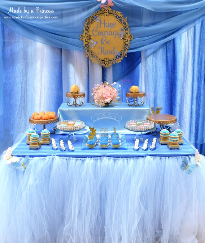 Princess Cinderella Party Will Leave You Enchanted Dessert Table Cinderella Party Cinderella Birthday Party Cinderella Birthday Party Decorations