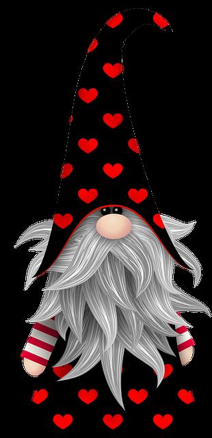 Free Image On Pixabay Valentine Gnome Scandivian Gnome Gnome Pictures Gnomes Gnomes Crafts