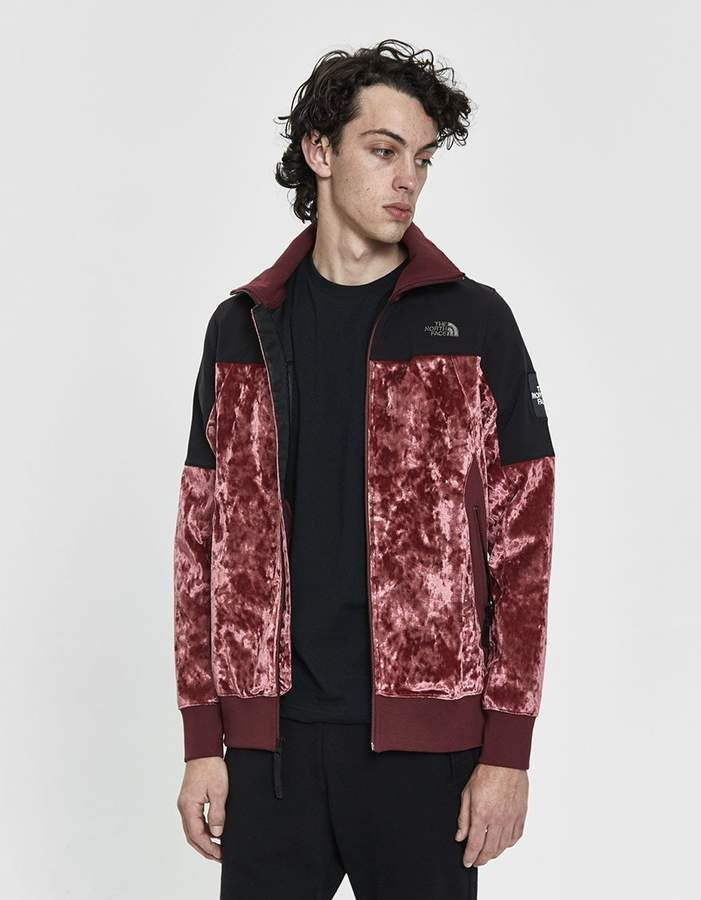 a4b549d9a City Velvet Track Jacket in Regal Red in 2019 | Products | Jackets ...