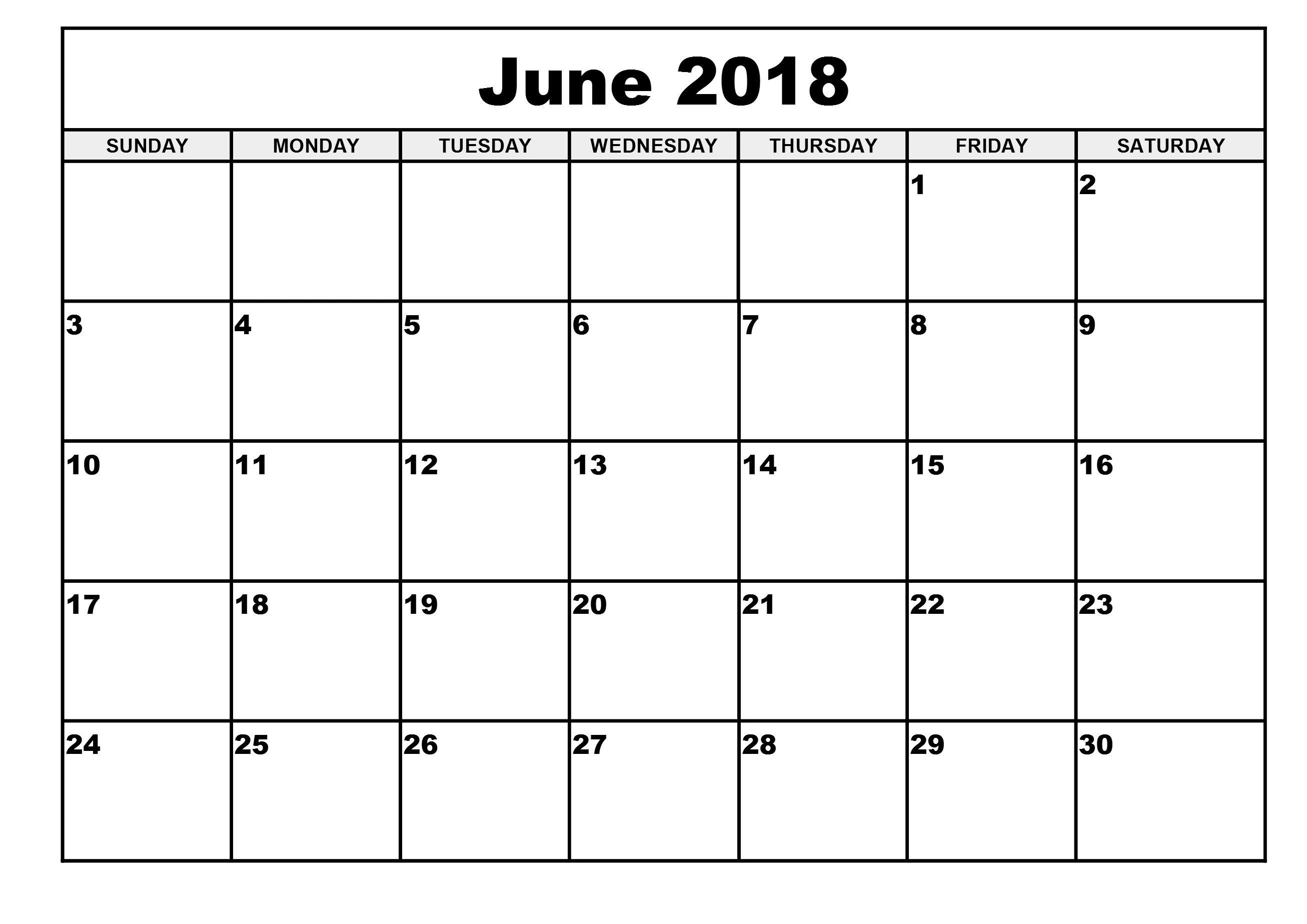 Http Zhonggdjw Com 2018 June Calendar Html 2018 June Calendar Printable Tem Monthly Calendar Template Blank Monthly Calendar Template Calendar 2019 Printable