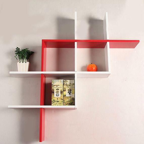 estante estantes ikea cruz tabique estante de pared decorativos de la pared del gabinete teln enrejado - Estantes De Pared