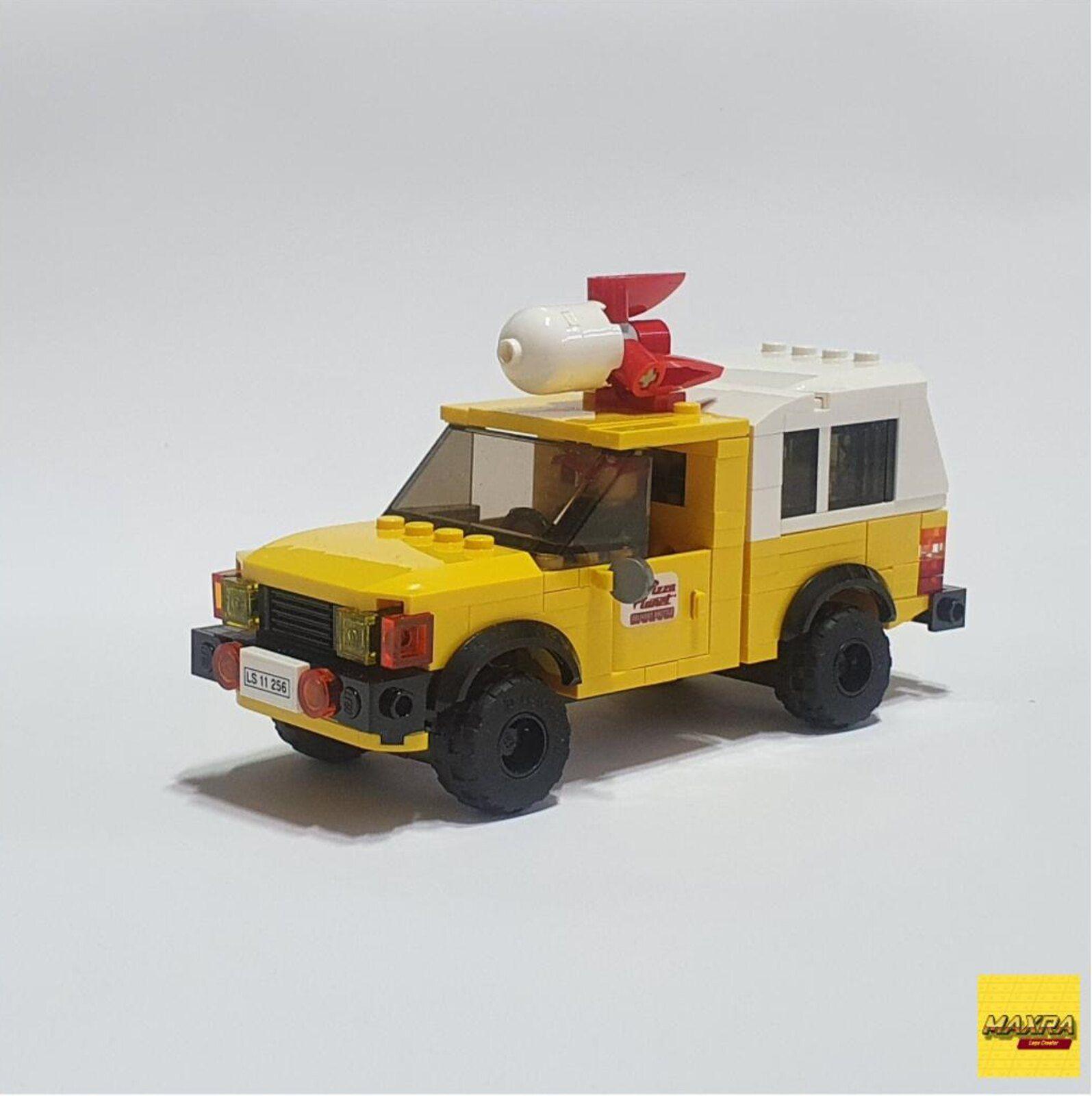 Pizza Truck MK.II in 2020 Toyota hilux, Hot rods