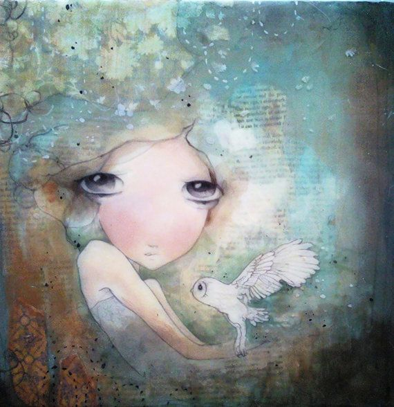 limited edition fine art print mounted on wood by kendrabinney